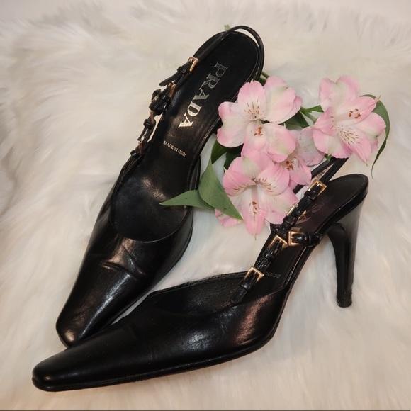 165da8e0aced8 PRADA VINTAGE heels